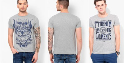 Фото на серую футболку, печать на серых свитшотах