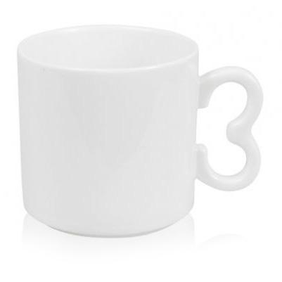Кружка с ручкой в форме номера, цифры - 0, 1, 2, 3, 4, 5, 6, 7, 8, 9