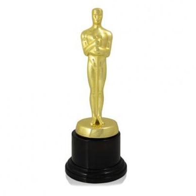 Фигура золото Оскар с основанием