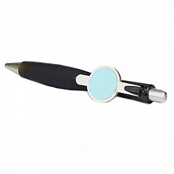 #8ART - Ручка шариковая пластиковая со вставкой разных цветов