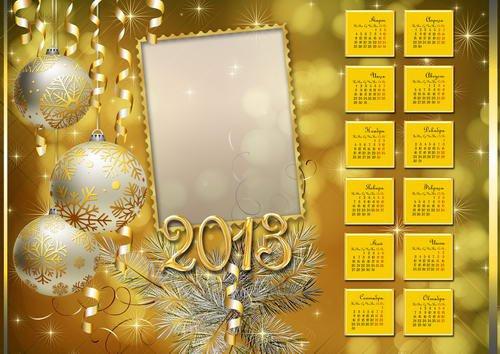скачать шаблоны календарей 2013