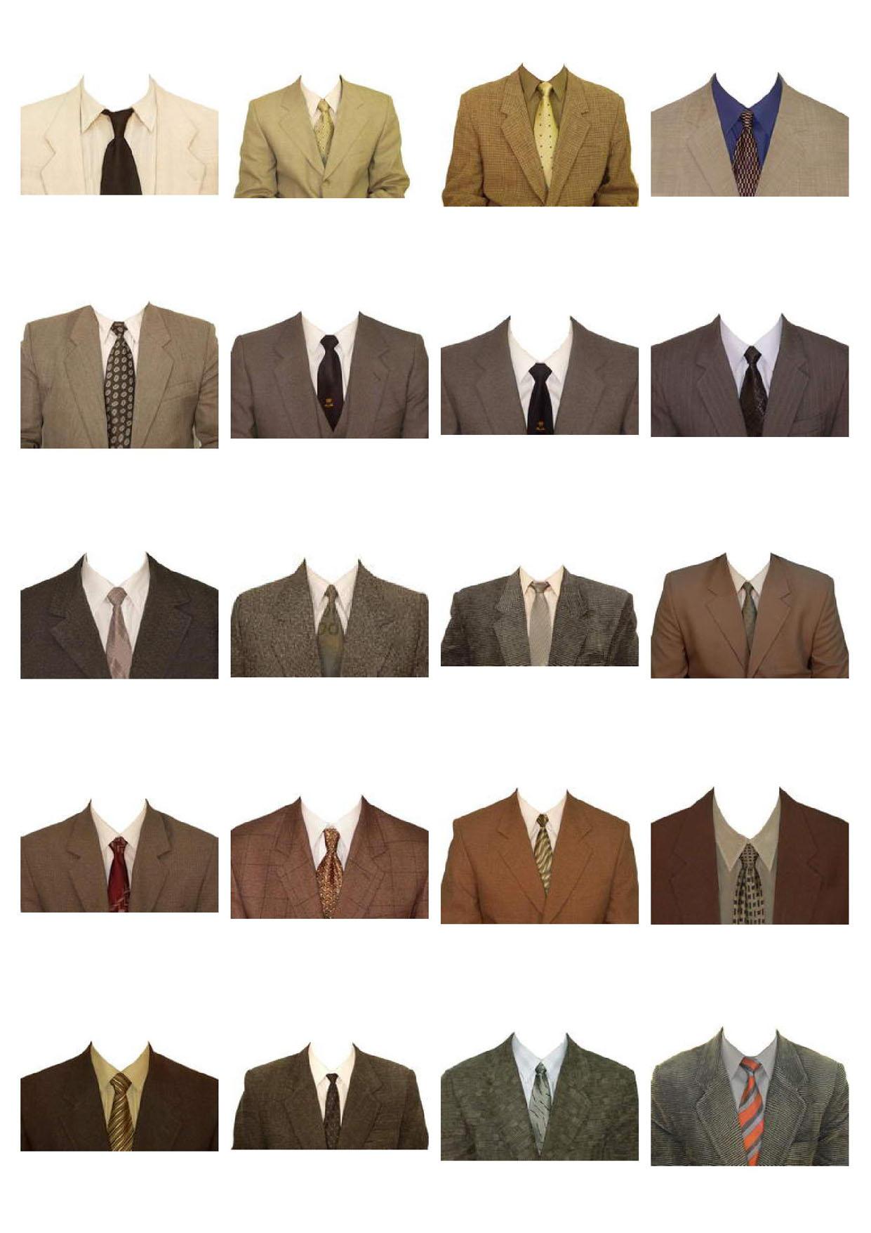 пиджаки и костюмы для фотошопа в psd