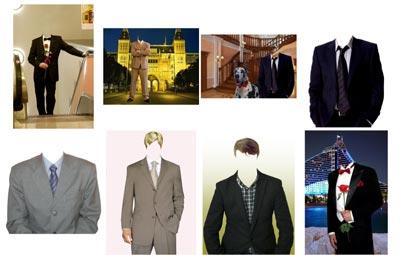 скачать бесплатно шаблоны для мужского фотомонтажа - пиджаки