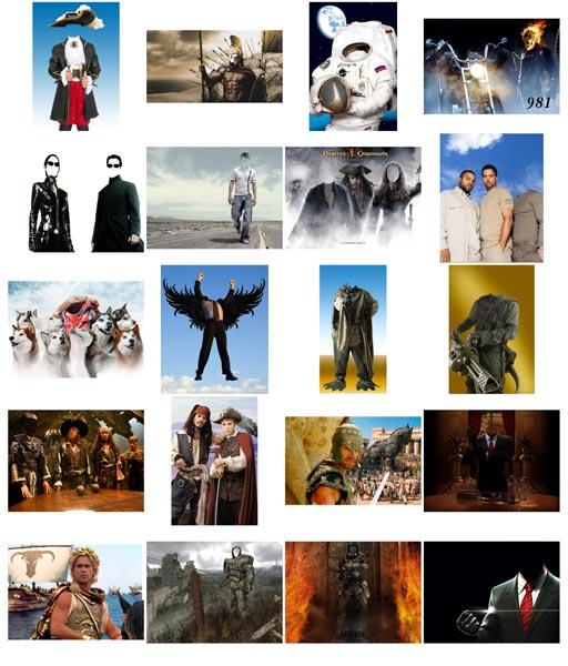 мужчины знаменитости для фотомонтажа
