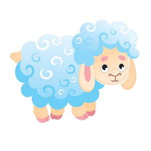 скачать клипарт к 2015 году - овцы и козы