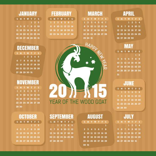 скачать сетки на календарь 2015 год