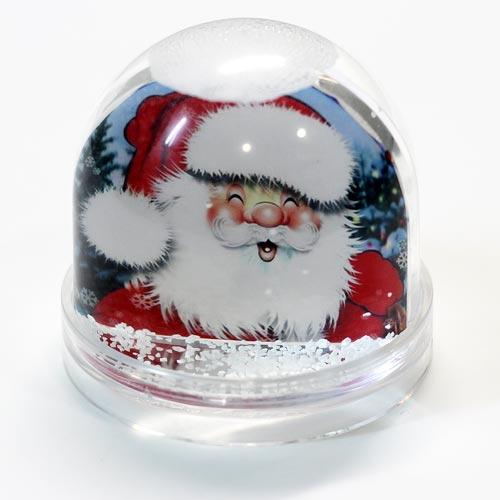 шар со снегом с фото на заказ