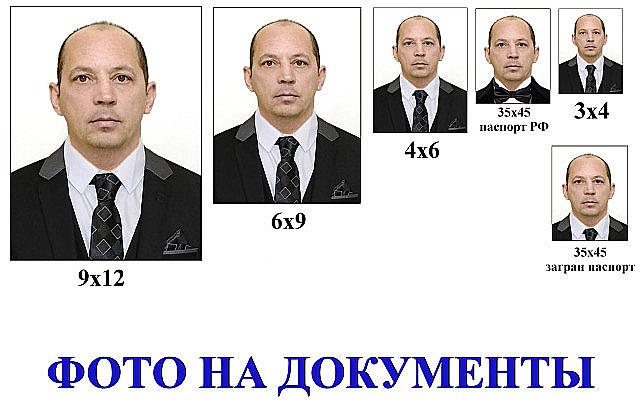 Фото на документы онлайн с доставкой по Москве. Обработка фото под онлайн-сервисы.