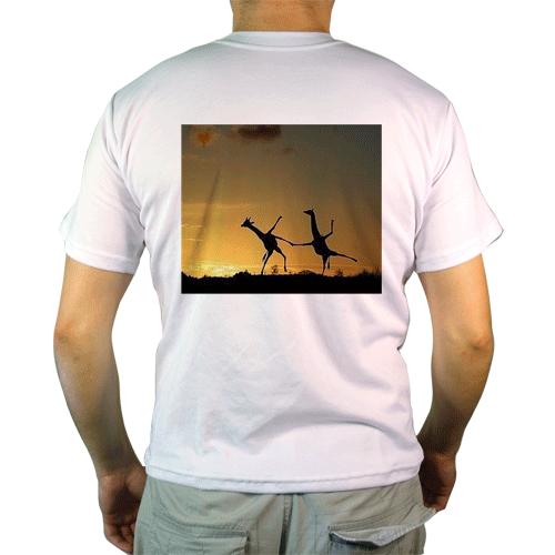Цифровая печать на футболках от 1 шт.