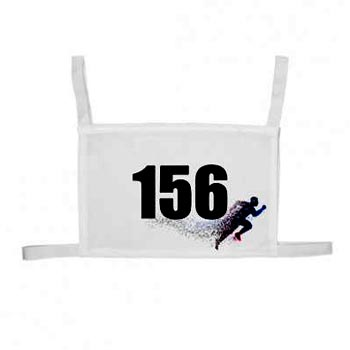 Нагрудный номер для марафонца заказать