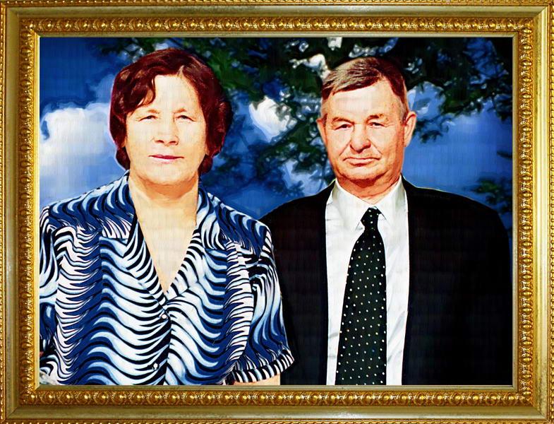 Рисунок родителям на годовщину