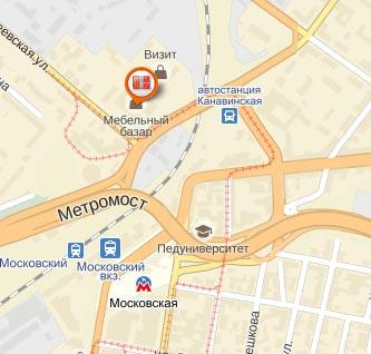 почтомат 8-арт в Нижнем Новгороде в ТЦ Мебельный Базар