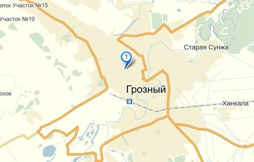 пункты выдачи заказов фотосалона 8-Арт в Грозном