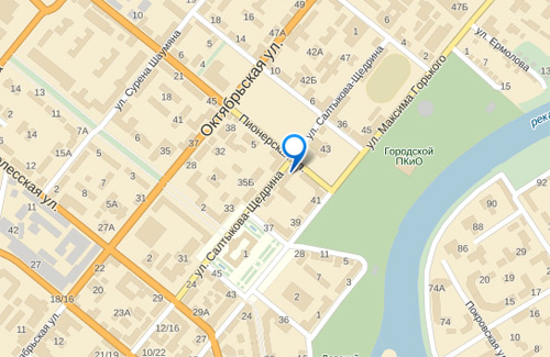 карта город Орел 8-Art