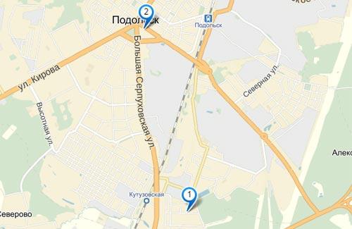 пункты выдачи заказов фотосалона 8-арт в Подольске