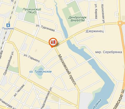 почтомат в городе Пушкино