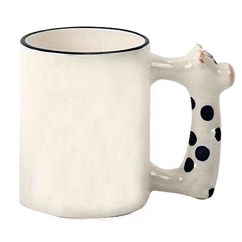 кружка с коровой на заказ в 8-арт