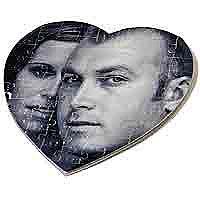 пазлы в форме сердца на 14 февраля
