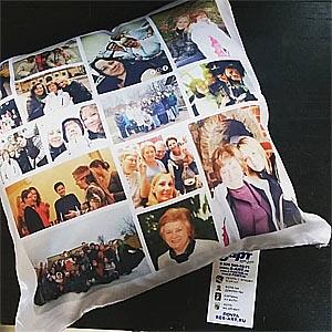 подушка на заказ