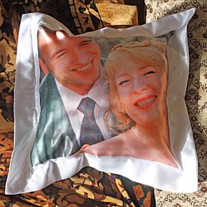 подушка квадратная с фото