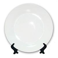 белая тарелка для печати