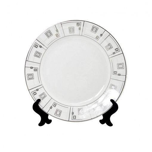 Тарелка геометрические фигуры 8-Art